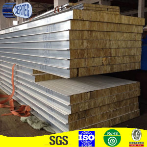 Fireproof Lightweight Rock Wool Sandwich Panels pictures & photos
