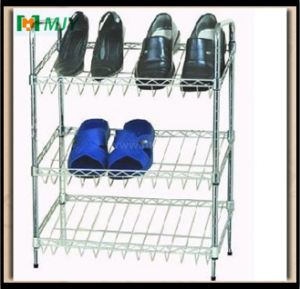 Wire Shoe Rack Shelving Mjy-Wsc11 pictures & photos