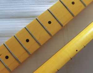 Finished Vintage Color Custom Canadian Maple Tele Guitar Neck pictures & photos