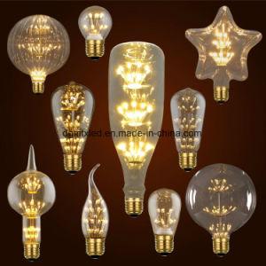 MTX LED bulb E27 2W Vintage Edison lamp ST48 transparent Glass Filament light Retro lamps AC220V pictures & photos