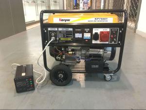 Single Phase 7kVA 7.5kVA 8kVA Electric Portable ATS Gasoline Generator pictures & photos