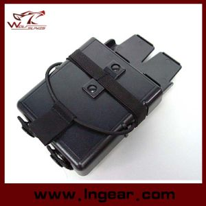 Airsoft Molle Fastmag M4 5.56 Magazine Clip Holder Pouch for Military pictures & photos