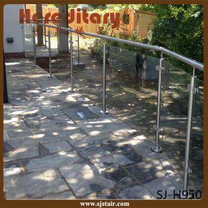 304 316 Stainless Steel Handrail Balustrade/Glass Handrail (SJ-S130) pictures & photos