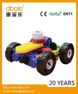 Hot Selling Plastic Kids Educational Toy Mini Deformed 3D Building Blocks pictures & photos