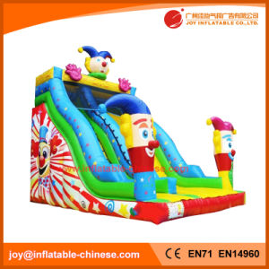 2017 High Quality 0.55mm PVC Tarapulin Inflatable Clown Slide (T4-200) pictures & photos