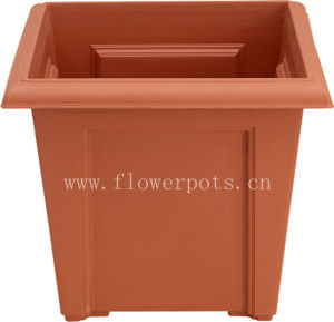 Square Plastic Flower Pot (KD4701-KD4703) pictures & photos