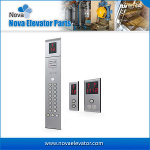 Elevator Cop and Hop with Hairline Stainless Steel Finish pictures & photos