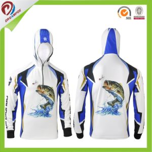 Sublimation Fishing Hoodies with Custom Logo Whole Sale China 2017 pictures & photos