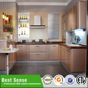 Popular White Lacquer U0026 MDF Kitchen Cabinet Design