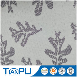 180-550GSM Customized Jacquard Logo Available Fire Retarded (other treatment available) Mattress Ticking Fabric Tp224 pictures & photos