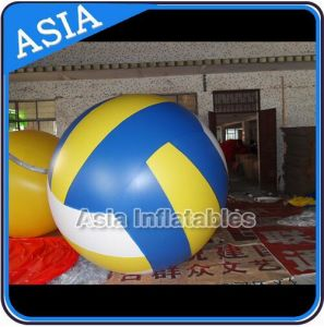 Reusable Fireproof Inflatable Political Advertising Volleyball Balloon with Total Digital Printing pictures & photos