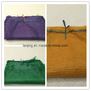 Bw124 PP Woven Breathable Vegetable Firewood Mesh Bag pictures & photos