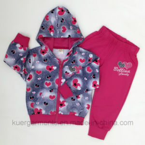 Fashion New Style Girl Suit in Kids Clothes pictures & photos