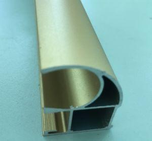 Aluminum Extrusion/Aluminium Profile for Surface Oxidized Golden. pictures & photos