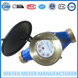 Dn40mm Multi-Jet Brass Body Wet Dial Water Activity Meter with Brass Parts pictures & photos