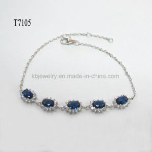 925 Silver Jewelry Gemstone Bracelet (T7105) pictures & photos