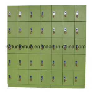 Water Resistant Laminate Lockers /24 Door Keyless Lockers pictures & photos