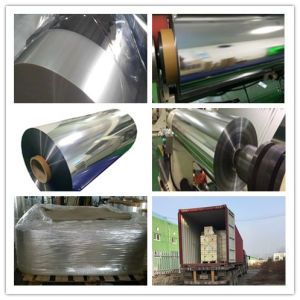 Packaging Materials: Metalized Pet Film, 10, 12 Um. Polyester Film pictures & photos