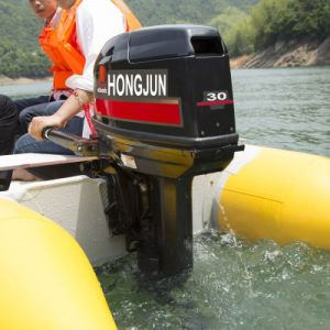 High Powerful 4 Stroke 25HP Ourtboard Engine pictures & photos