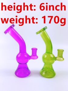 6′′ Mini Gourd Designs Recycler Colorful Glass Smoking Pipes pictures & photos