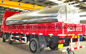 4-30cbm fresh milk tanker, milk tank truck pictures & photos