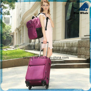 Bwf1-201 Soft EVA Luggage Bag American Trend Trolley Luggage Suitcase pictures & photos