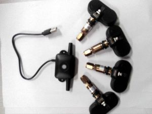 Android Navigation USB TPMS Tire Pressure Monitor System Internal or External Sensors pictures & photos