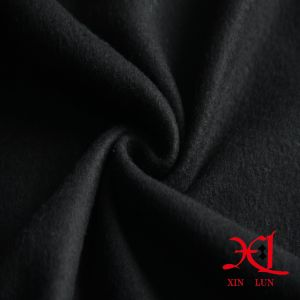 Black One Side Brush Polar Fleece Fabric for Lining/Jacket pictures & photos