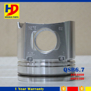 Qsb6.7 (4934860) Piston for Excavator Diesel Engine Spare Parts pictures & photos