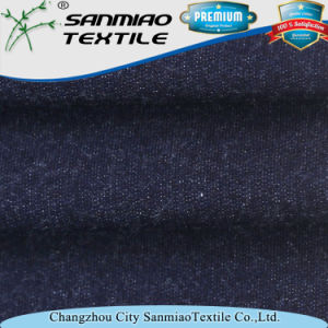 Indigo 30s Knit French Terry Fabric for Clothes pictures & photos