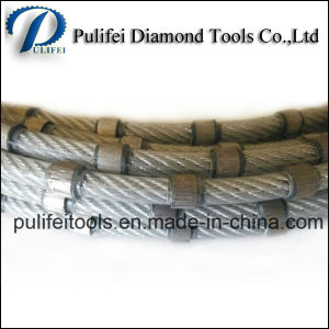 Rubber Spring Diamond Wire Saw for Granite Block Cutting Reinforce Concrete pictures & photos