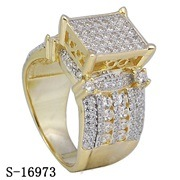 Hip Hop Jewelry Ladies Ring 925 Silver Micropave CZ Rings pictures & photos