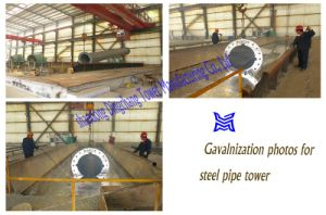 230kv Steel Tube Poles pictures & photos