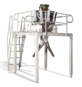 Manual Collecting Packing System with Multihead Weigher pictures & photos