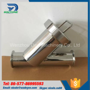 """2"""" SS304 Sanitary Y Type Clamp Filter pictures & photos"""