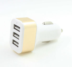 Promotion Gift Cheapest 3 Port USB Car Charger Car Charger pictures & photos