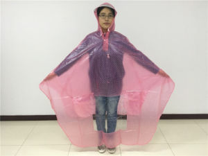 High Quality PVC Bicycle Rain Cape Poncho pictures & photos