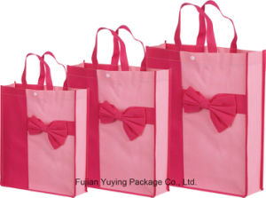Laminating Non Woven Tote Shopping Bag with Customized Printing pictures & photos