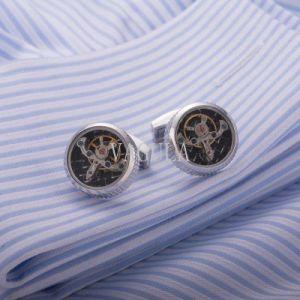 New Arrival Tourbillon Cufflinks Watch Movement Mechanical Cuff Links pictures & photos