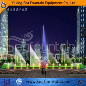 Outdoor Top Grade Easy Installnation Stainless Steel Program Control Fountain pictures & photos