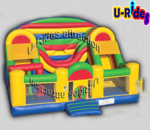 Inflatable Combo Obstacle with Slide pictures & photos
