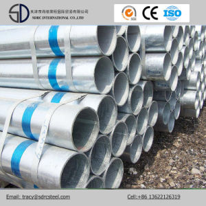 Thin Wall Galvanized Round Carbon Steel Tube pictures & photos