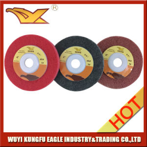 100X15mm Abrasive Polishing Wheel pictures & photos