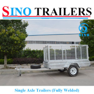 8X5 Heavy Duty Trailers with Cage pictures & photos