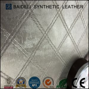 Metallic Surface PVC Artificial Leather for Sofa/Furniture/Bags Upholstery pictures & photos