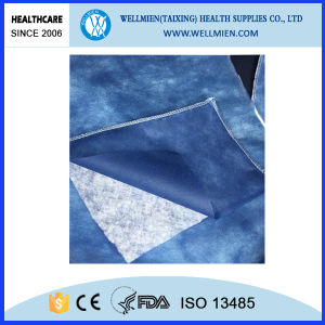 Disposable Patient Blanket Nonwoven Blanket White with Polyester Filling pictures & photos