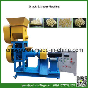 China Grain Bulking Puff Snacks Food Extruder Making Machine pictures & photos