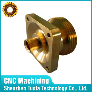 High Processing Brass Cooper Customized Parts CNC Turning Metal Spares