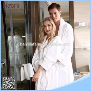 Super Soft China Cotton Bathrobe Factory /Cheap Hotel Promotional Cotton Bathrobe pictures & photos