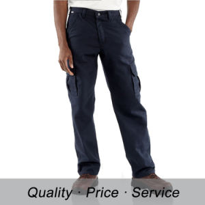 Factory 100% Cotton Men Work Pants pictures & photos